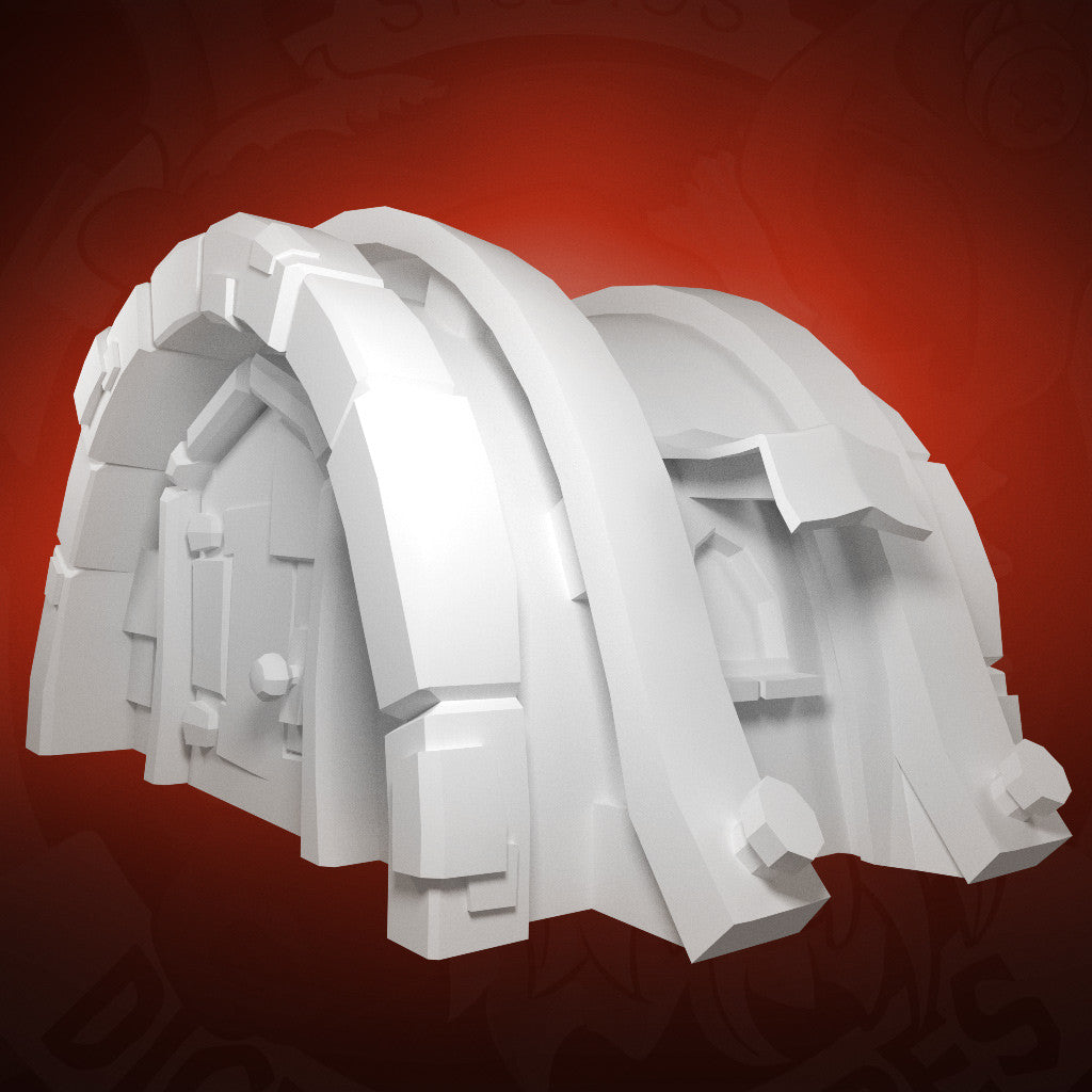 Fire Dwelling - 3D Printable Model