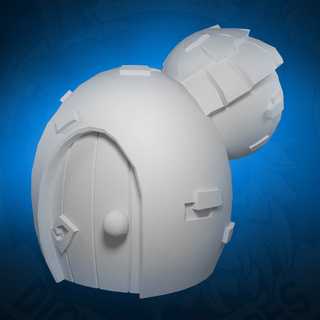 Water Dwelling - 3D Printable Model