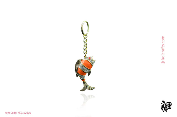 Koi key chain