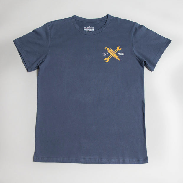 The DGR Heritage Tee - Blue