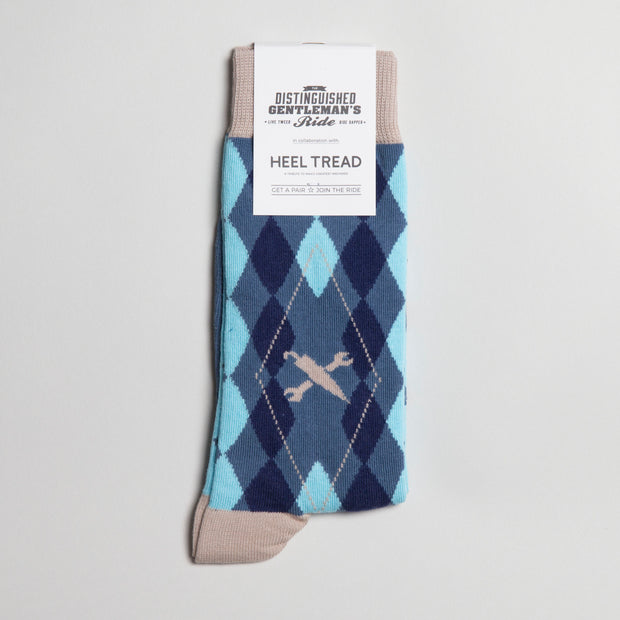 Argyle Icon Sock