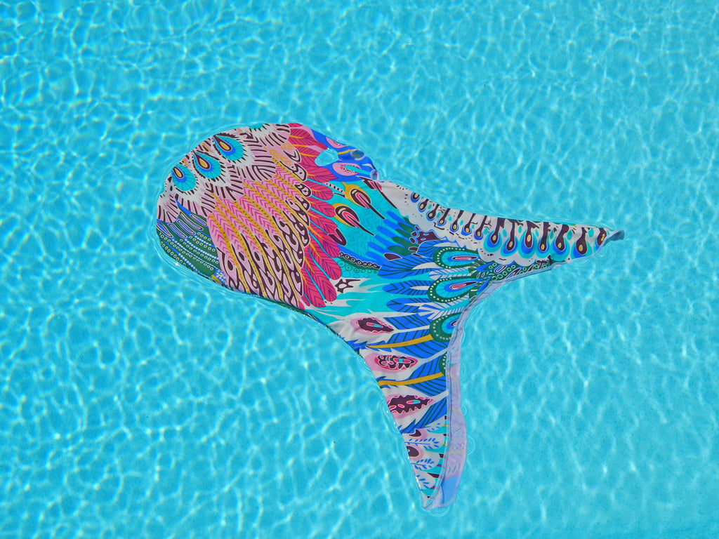 Prints & Patterns - Peacock Facekini