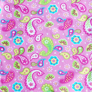 Prints & Patterns - Pink Paisley Facekini