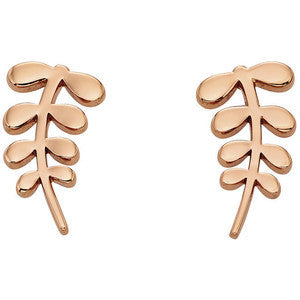 Orla Kiely Buddy Rose Gold Stem Stud Earrings - Stevens Jewellers Letterkenny Donegal