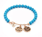 Friendship Turquoise Expandable Bangle - Stevens Jewellers Letterkenny Donegal