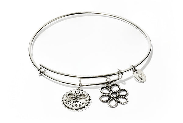 Sister Expandable Bangle - Stevens Jewellers Letterkenny Donegal