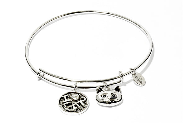 I Love My Cat Expandable Bangle - Stevens Jewellers Letterkenny Donegal