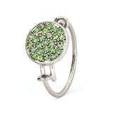 Peridot Crystal Ring - Stevens Jewellers Letterkenny Donegal