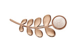 Orla Kiely Buddy Rose Gold Stem Brooch - Stevens Jewellers Letterkenny Donegal