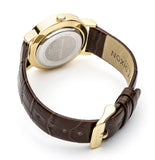Georgia Metallic Dial with Dark Brown Croc Leather Strap - Stevens Jewellers Letterkenny Donegal