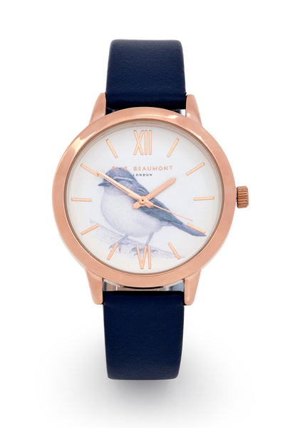 Elie Beaumont Birdcage Sparrow - Navy - Stevens Jewellers Letterkenny Donegal