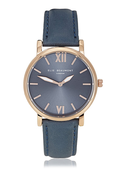 Elie Beaumont Kew Blue Ladies Watch - Stevens Jewellers Letterkenny Donegal