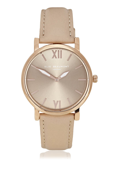 Elie Beaumont Kew Cream Ladies Watch - Stevens Jewellers Letterkenny Donegal
