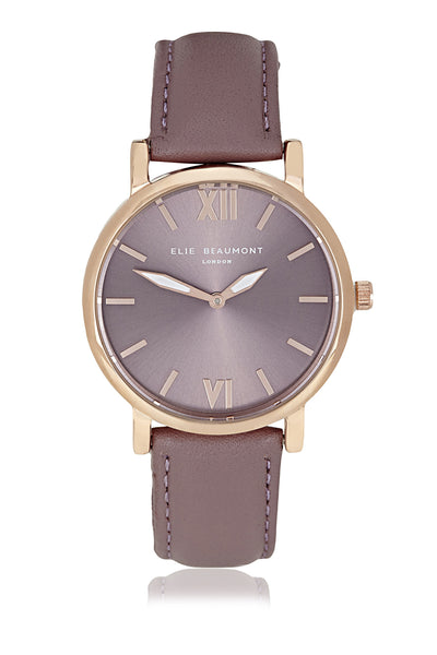 Elie Beaumont Kew Purple Ladies Watch - Stevens Jewellers Letterkenny Donegal
