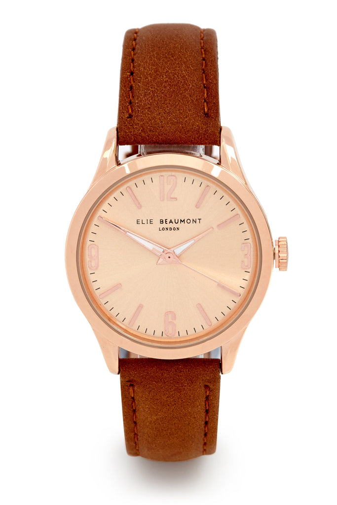 Elie Beaumont Bayswater Brown Ladies Watch - Stevens Jewellers Letterkenny Donegal