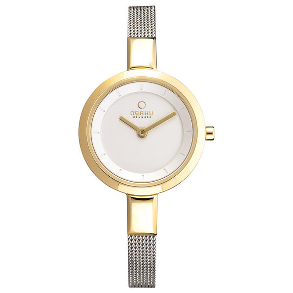 Obaku Siv Gold-Bi Women's Wristwatch