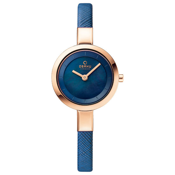 Obaku Siv Navy Women's Wristwatch - Stevens Jewellers Letterkenny Donegal