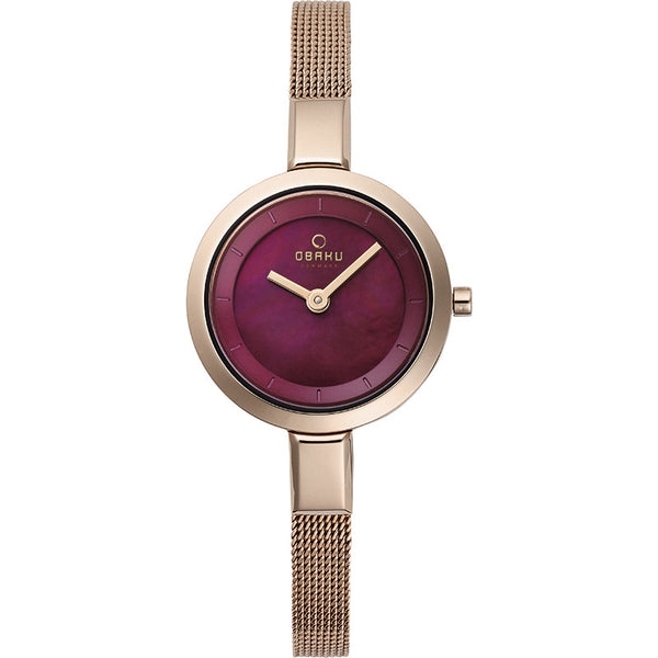 Obaku Siv Ruby Women's Wristwatch - Stevens Jewellers Letterkenny Donegal