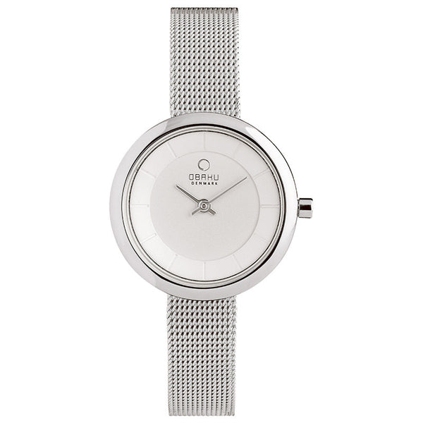 Obaku Stille Steel Women's Wristwatch
