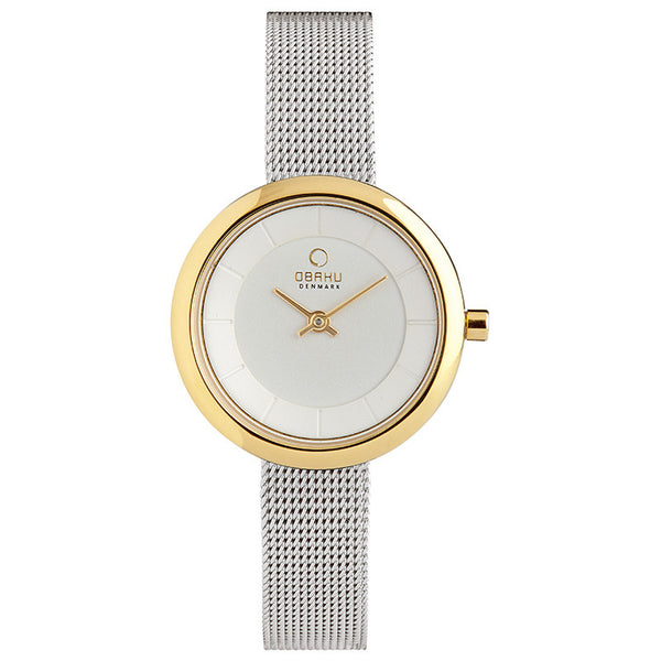 Obaku Stille Gold-Bi Women's Wristwatch