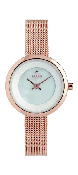 Obaku Stille Rose Women's Wristwatch