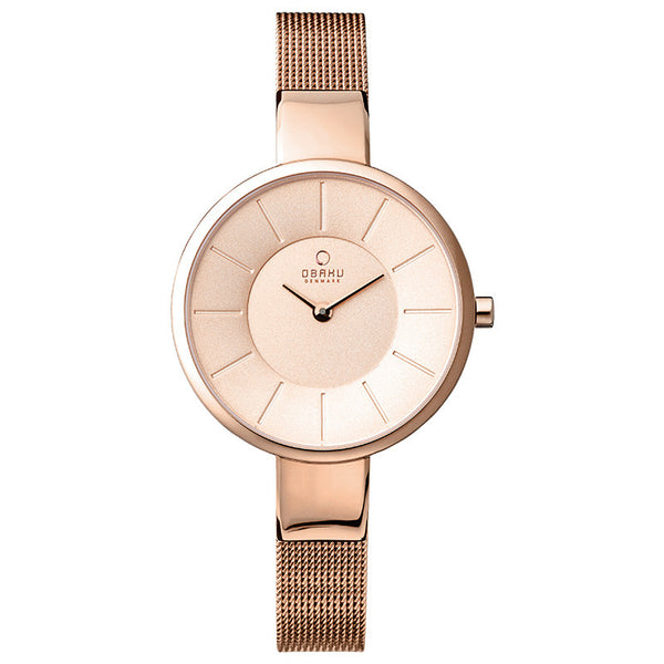Obaku Sol Rose Women's Wristwatch - Stevens Jewellers Letterkenny Donegal