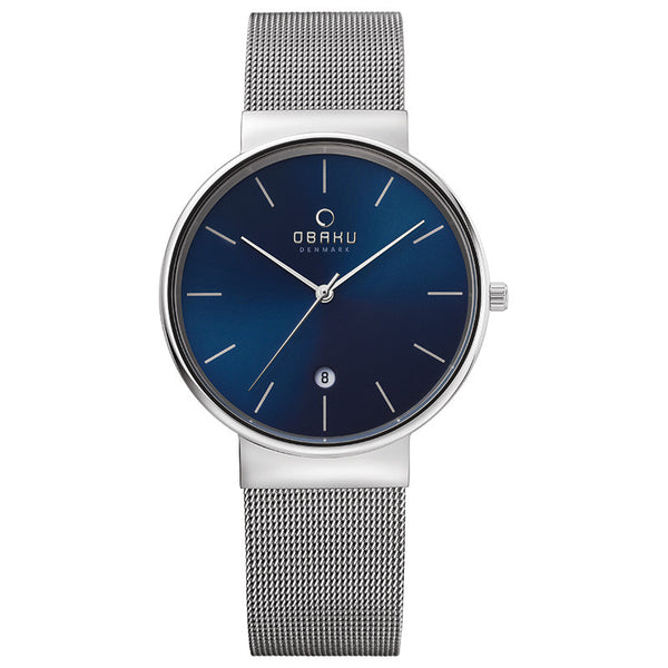 Obaku Klar Cyan Men's Wristwatch