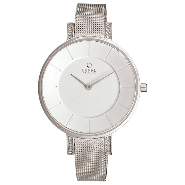 Obaku Lun Steel Women's Wristwatch - Stevens Jewellers Letterkenny Donegal