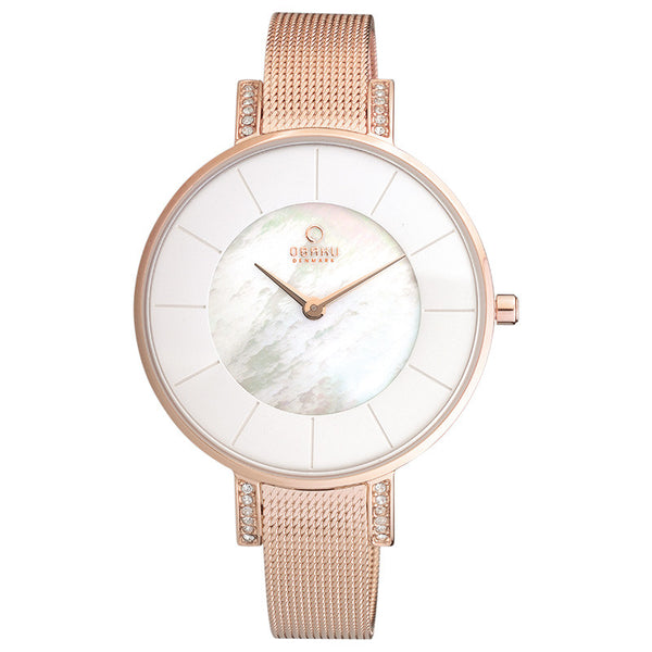 Obaku Lun Rose Women's Wristwatch - Stevens Jewellers Letterkenny Donegal