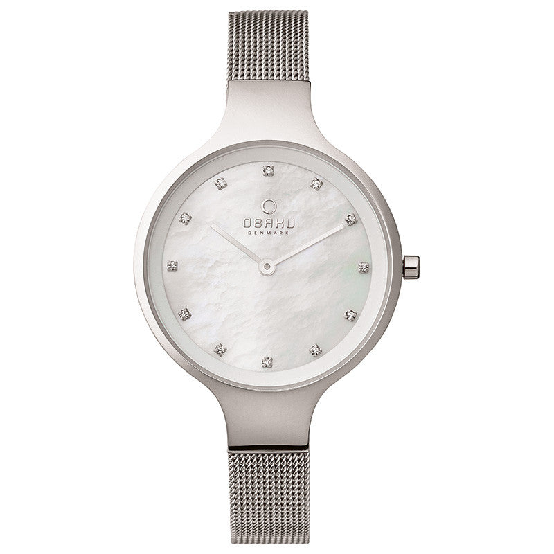 Obaku Sky Steel Women's Wristwatch