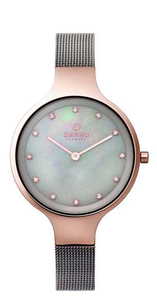 Obaku Sky Granite Women's Wristwatch