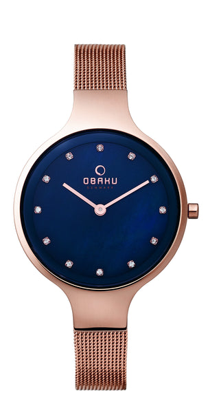 Obaku Sky Azure Women's Wristwatch