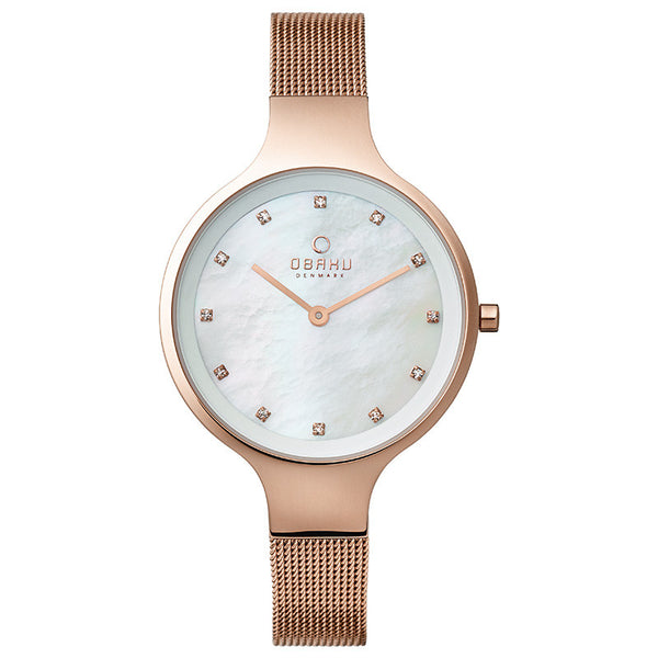 Obaku Sky Rose Women's Wristwatch - Stevens Jewellers Letterkenny Donegal