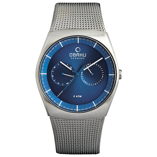 Obaku Jord Cyan Men's Wristwatch