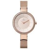 Obaku Sol Glimt Rose Women's Wristwatch - Stevens Jewellers Letterkenny Donegal