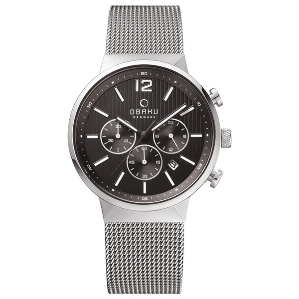 Obaku Storm Onyx Men's Wristwatch