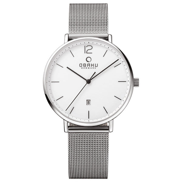Obaku Toft Steel Men's Wristwatch