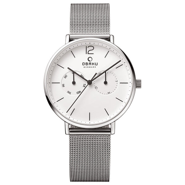 Obaku Flod Steel Men's Wristwatch