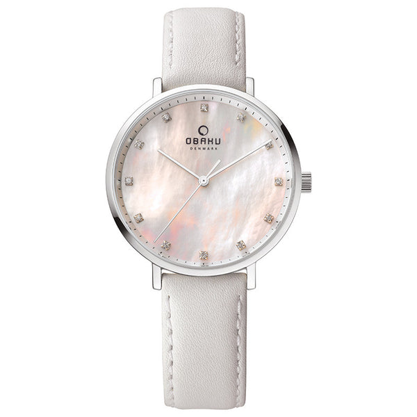 Obaku Vest Snow Women's Wristwatch - Stevens Jewellers Letterkenny Donegal
