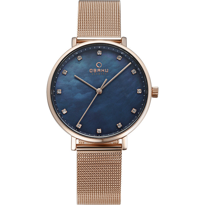 Obaku Vest Azure Women's Wristwatch