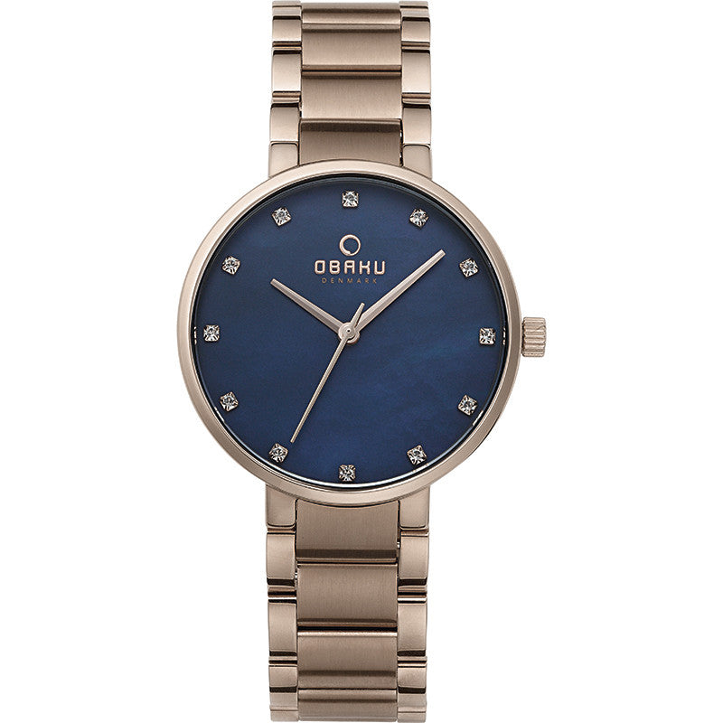 Obaku Glad Lapis Women's Wristwatch - Stevens Jewellers Letterkenny Donegal