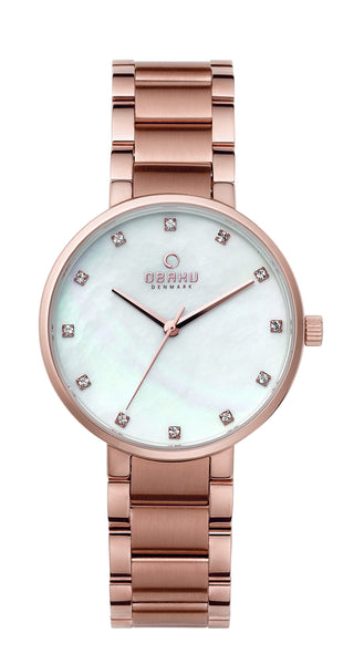 Obaku Glad Fuschia Women's Wristwatch
