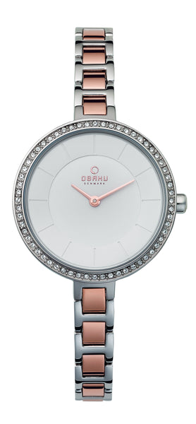 Obaku Frost Peach Women's Wristwatch - Stevens Jewellers Letterkenny Donegal