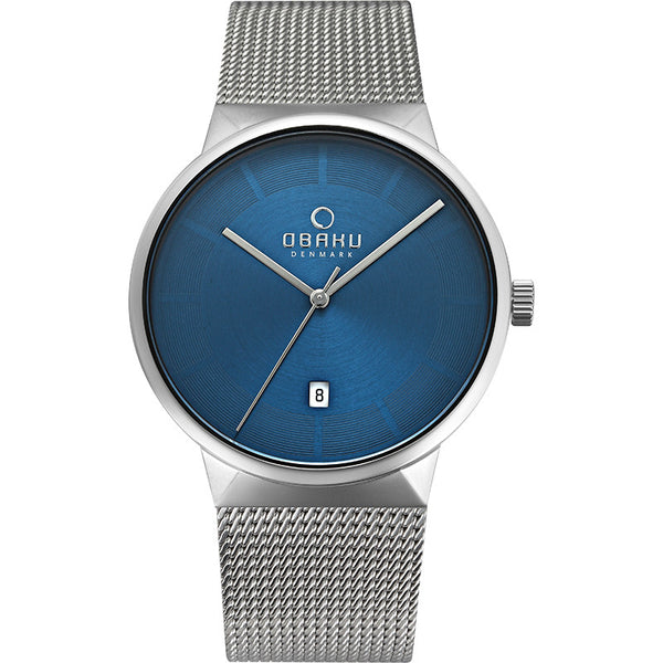 Obaku Hav Cyan Men's Wristwatch