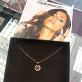 Rebecca My World Small Disk and Chain - Stevens Jewellers Letterkenny Donegal