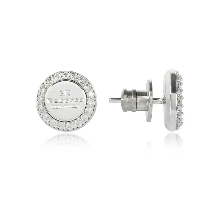 Rebecca Earrings Silver Stud - Stevens Jewellers Letterkenny Donegal