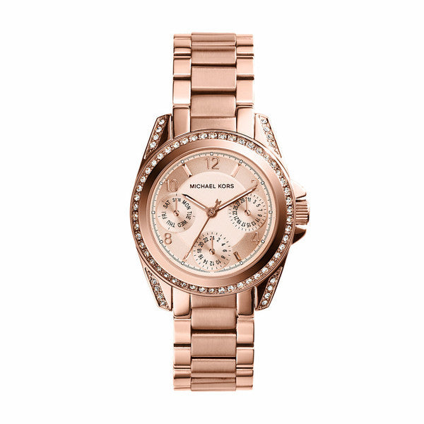 Michael Kors Ladies Mini Blair Rose Gold Watch - Stevens Jewellers Letterkenny Donegal