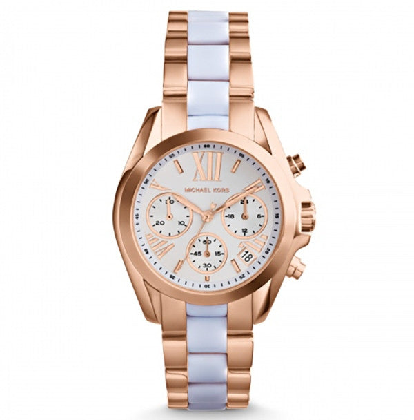 Michael Kors Bradshaw Chronograph Two Tone Ladies Watch - Stevens Jewellers Letterkenny Donegal