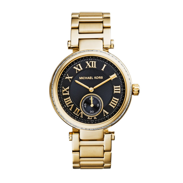 Michael Kors Skylar Gold Ladies Watch - Stevens Jewellers Letterkenny Donegal