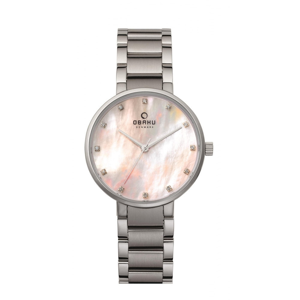 Obaku Glad Coral Women's Wristwatch - Stevens Jewellers Letterkenny Donegal